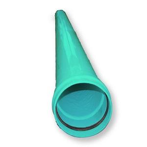 24 in. Gasket PVC Pressure Pipe in Blue DR21BP24