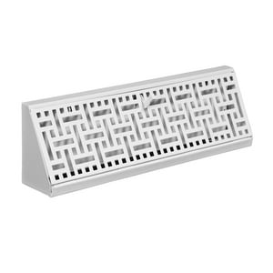 Accord Ventilation Products 15 x 6 in. Baseboard Register in White Steel AABBBWHB