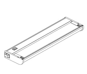 Creative System Lighting 32 in. 18W LED Under-Cabinet Light in White CNCALED32WT