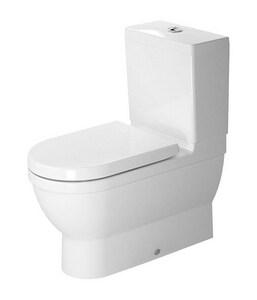 Duravit Starck 3 1.28 gpf Round Toilet in White Alpine D2141090000