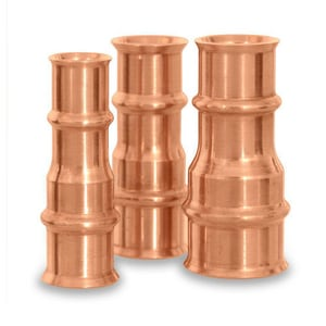 Parker Hannifin 5/8 x 1/2 in. Copper Reducer P770802