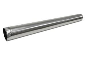 Juniper Industries 4 in. x 5 ft. 26 ga Galvanized Steel Round Duct Pipe JP042660