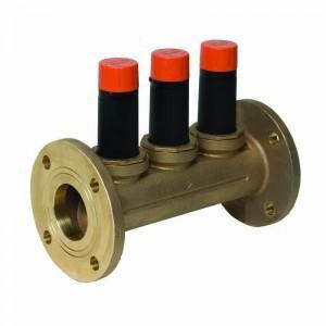 Cash Acme EB-25 4 in. 250 psi Bronze Flanged Pressure Reducing Valve C239980055