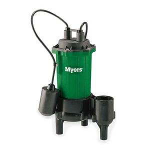 Myers MW50 Series 1/2 hp Sewage Pump MMW5011P