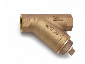 Matco-Norca 145LF 1 x 1 x 1 in. 300# IPS Bronze Wye Strainer M145T05LF