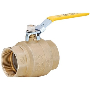 Matco-Norca 759 1-1/4 in. Forged Brass Full Port Solder 600# Ball Valve M759C06