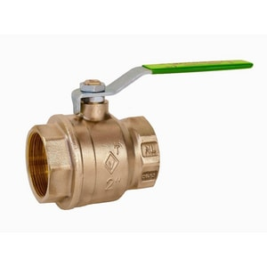Matco-Norca 757TLF 1/2 in. Forged Brass Full Port Threaded 600# Ball Valve M757T03LF