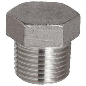 3/4 in. Stainless Steel Threaded Plug DS63THPF14