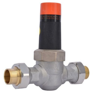 Cash Acme EB-25 3/4 in. 300 psi Bronze and Stainless Steel Union Sweat Pressure Reducing Valve C231370045