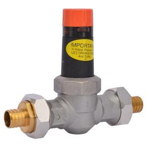 Cash Acme EB-25 1 in. 300 psi Bronze and Stainless Steel Union PEX Pressure Reducing Valve C231400045