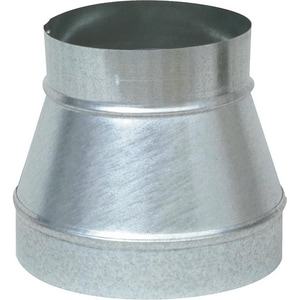 Juniper Industries 4 in. x 7 in. 26 ga Galvanized No-Crimp Smoke Increaser JRIX04