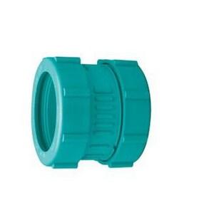 Zurn Corrosive Waste Drainage 3 in. Fusion Straight Schedule 40 Polypropylene Coupling ZZ9ACFM