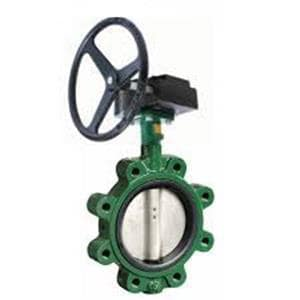 Crane Valve/Crane Energy Flow Sol Series 200 4 in. Ductile Iron EPDM Gear Operator Handle Butterfly Valve CCV051355