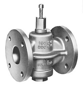 Homestead Valve Series 600 5 in. Cast Iron 200 psi WOG Flanged Wrench Plug Valve H612S