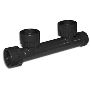 Advanced Drainage Systems 24 x 24 x 18 in. Reducing Double Manifold Tee A2452AN3518