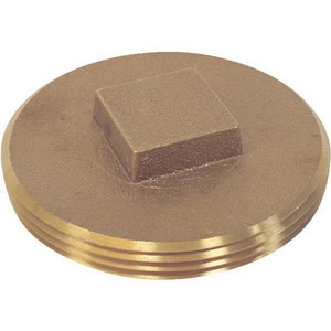 1/8 in. Plug Square Head Brass Cored IBRLFCPLUGA