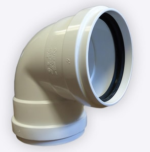 Contech Construction A-2000™ 15 in. Straight PVC 90 Degree Elbow C2000915