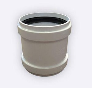 Contech Construction 18 in. Straight SDR 35 PVC Repair Coupling CA2000RC18