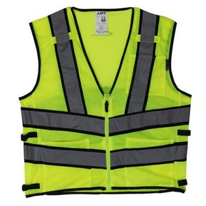 Fairway L Size Safety Vest in Yellow LAV210LL