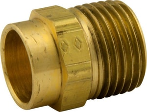 Cello Products 1/2 in. MIP Barstock Adapter CBSMA