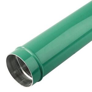 168 MM (6 ID) PIPE (L= 20'): 6063T5 ALUMINUM GREEN PTA16L802