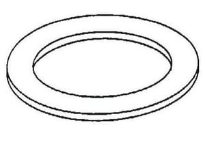 Wal-Rich 3/8 in. Friction Ring for Gauge Glass Nut W2712006