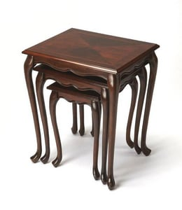 Butler Specialty Company Thatcher 26 x 22 in. Nest Of Table Set in Cherry B2306024