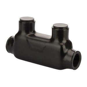 NSI Industries Insulated Connector 250 Mcm-6 ga in Black NISR250