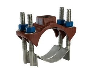 JCM Industries 6 x 1 in. CC Iron Double Strap Saddle J4040690X09CC