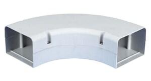 Little Giant Pump Speediduct™ 3 in. 90 Degree Long Flat Elbow in White L599600314