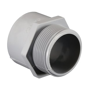 1-1/4 in. Schedule 40 PVC Conduit Male Adapter EPVCMAH