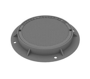General Foundries 24 in. Round Storm Cover G12441ISCVRST