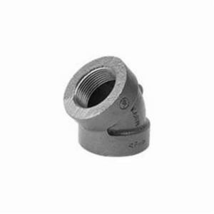 1-1/2 in. FNPT Black Pressure Rated Cast Iron 45 Degree Elbow WBCI4J