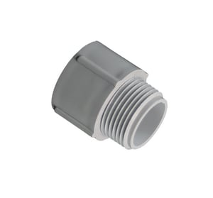 Can-Tex Industries 1/2 in. Schedule 40 PVC Conduit Male Adapter EPVCMAD