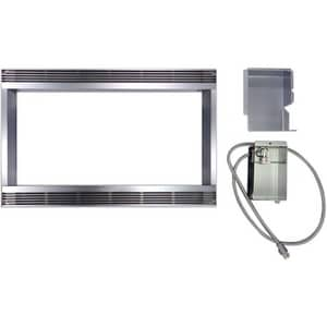 Sharp Electronics 27 in. Stainless Steel Microwave Trim Kit SRK51S