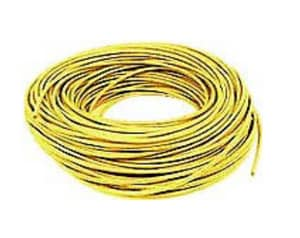 Wal-Rich 14 ga 500 ft. Roll Tracer Wire in Yellow W1842500