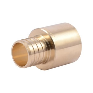 Wal-Rich 3/4 in. MIPS x Sweat Straight Brass Adapter W4109008
