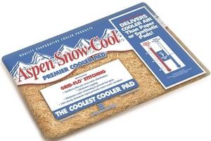 PPS Packaging Aspen Snow-Cool™ 28 x 34 in. Equipment Pad Fiber P1IP