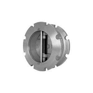 Titan Flow Control CV 42-SS 4 in. Stainless Steel Wafer Check Valve TCV42SSV0400