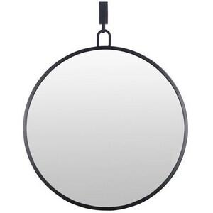 Varaluz Casa 32 x 30 in. Stopwatch Mirror in Black V407A01BL