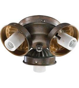 Quorum International 60W 3-Light Candelabra E-12 Base Incandescent Light Kit in Corsican Gold Q23039088