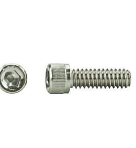 U.S. Industrial Supply 3/8 X 3     SOC Heavy Duty Cap Stainless Steel Screw Bolt SSCCM