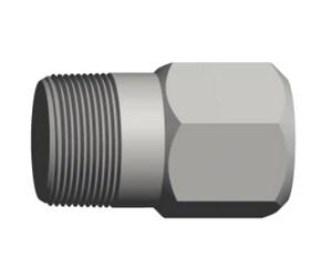 3/4 in. Threaded Seamless Hex Head Bull Black Carbon Steel Solid Plug BXSHBPF