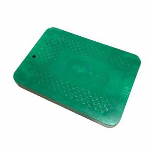 Ametek 19-5/8 in. Jumbo Solid Cover Only in Green A192101