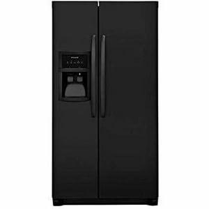 Frigidaire 25.5 cf Side-by-Side Refrigerator in Ebony EFFSS2625TE