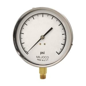 Miljoco 60 psi Pressure Gauge (Less Flange) MP4598L