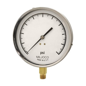 Miljoco 300 psi Pressure Gauge (Less Flange) MP4598L08