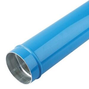 168 MM (6 ID) PIPE (L= 20'): 6063T5 ALUMINUM BLUE PTA16L804