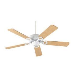 Quorum International Monticello 52 in. 63W 5-Blade Ceiling Fan in Studio White Q175208