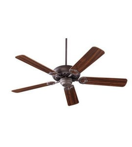 Quorum International Monticello 52 in. 63W 5-Blade Ceiling Fan in Toasted Sienna Q1752044